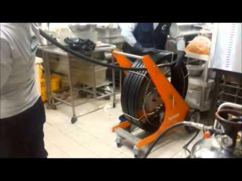 Limpieza de ductos y campanas de cocina con robot tegras - Robot de cocina cocimax ...