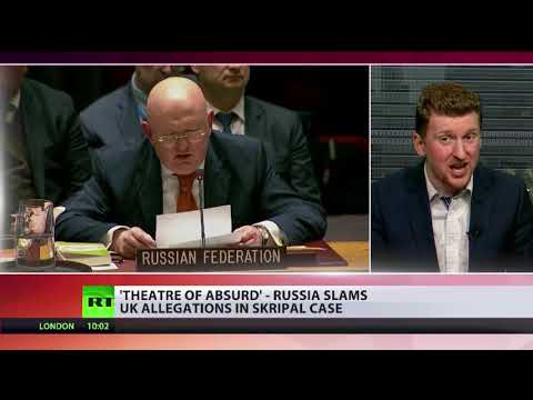 """Russian ambassador to UN: """"UK's playing with fire & they may end up in a bad way"""""""