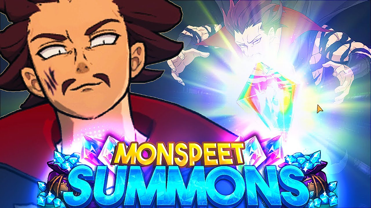 ESCANOR ANIMATION?! MONSPEET GLOBAL SUMMONS!! | Seven Deadly Sins: Grand Cross