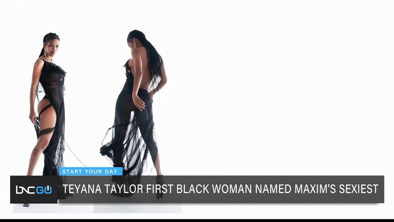 Teyana Taylor is first black woman to be named Maxim's 'Sexiest ...