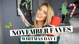 November Fitness and Beauty Favorites | ANNOUNCING WHITMAS