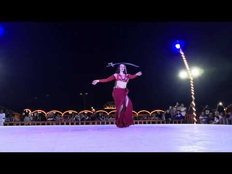 Belly Dance at the Desert Camp in Dubai 2019