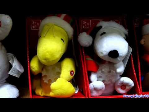 Snoopy dancing singing plush toy Christmas 2011