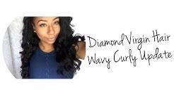 ♡ Diamond Virgin Hair Company • Wavy Curly UPDATE