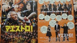 マエストロ! maestro 映画チラシ 2015年1月31日公開 【映画鑑賞&グッ...