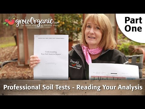 Professional Soil Tests - (Part 1) Reading Your Analysis