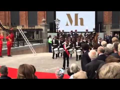 Mauritshuis Reopened by King Willem-Alexander - Opening Ceremony 1