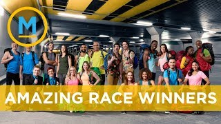 The winners of Amazing Race Canada are... | Your Morning