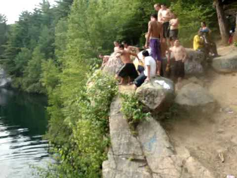 Milford Quarry Jump 6 27 2010 Youtube