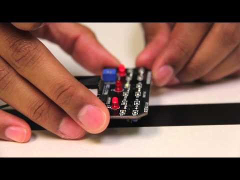 Pi-Bot 9: Light Sensor Array Assembly and Wiring