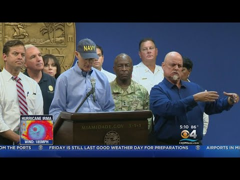 Miami-Dade Opening Shelters Ahead Of Hurricane Irma