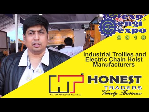 Best Industrial Trolleys And Electric Chain Hoist | Manufacturers And Traders
