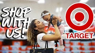 MOM VLOG | Come With Us to Target Again! + Baby Clothing Haul!