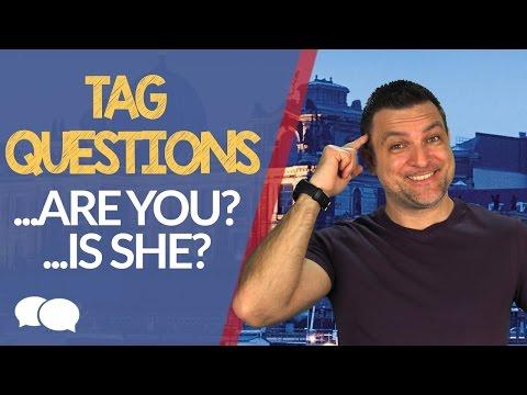 Aula de Inglês Pré-intermediário # 11 - Tag Questions