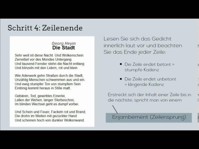 Rhetorische Mittel In Goethes Willkommen 13