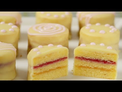 Petit Fours Recipe Demonstration Joyofbaking Com Youtube