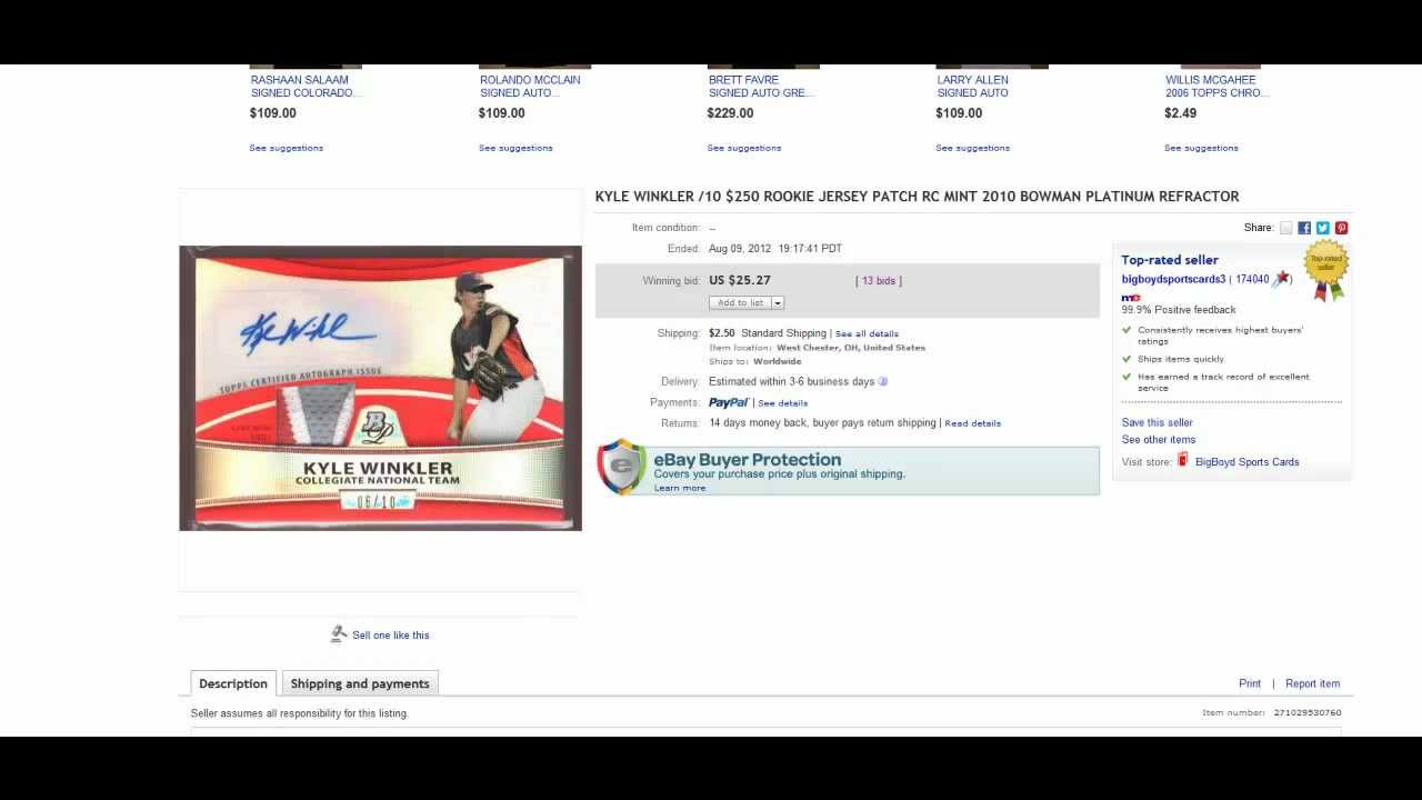 Shill Bidding On Ebay How To Tell If You Have Been Shill Bid Youtube