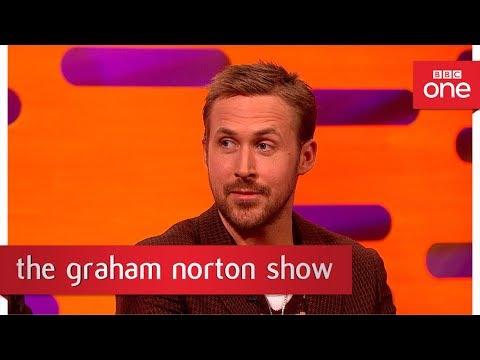 Ryan Gosling, cellophane salesman  The Graham Norton : 2017  BBC One