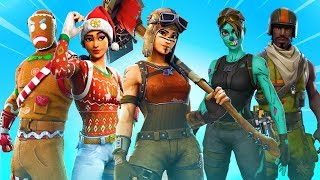 *ALL* RARE SKINS RELEASE DATE en Fortnite! (Ghoul Trooper, Renegade Raider, Christmas Skins, & MORE)