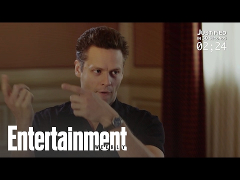 Jacob Pitts Recaps 'Justified In 30 Seconds'  Entertainment Weekly