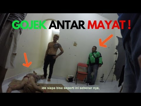 PRANK GOJEK BAWA MAYAT ! | PRANK INDONESIA 11