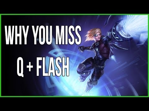Pls Rito: Ezreal's Q + Flash Combo Does Not Work The Way You Think It Does