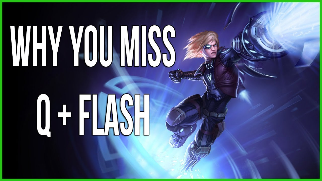 2b080a3f899f Pls Rito  Ezreal s Q + Flash Combo Does Not Work The Way You Think It Does