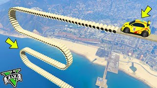 GTA 5 ONLINE 🐷 PARKOUR PIPES 100% IMPOSSIBILE ??? !!! 🐷 GTA 5 ITA 🐷 DAJE !!