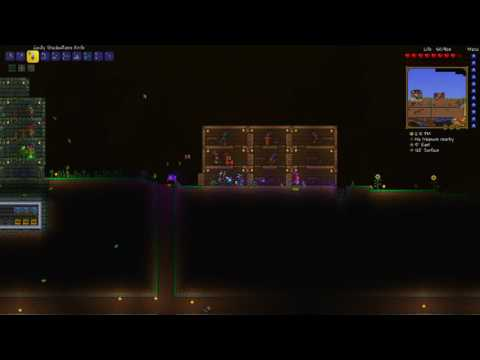 Let's Play Terraria [S9 Part 29] - Solar Eclipse and Plantera