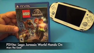 PSVita: Lego Jurassic World Hands On