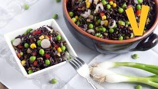 Rice Salad   The Vegan Corner