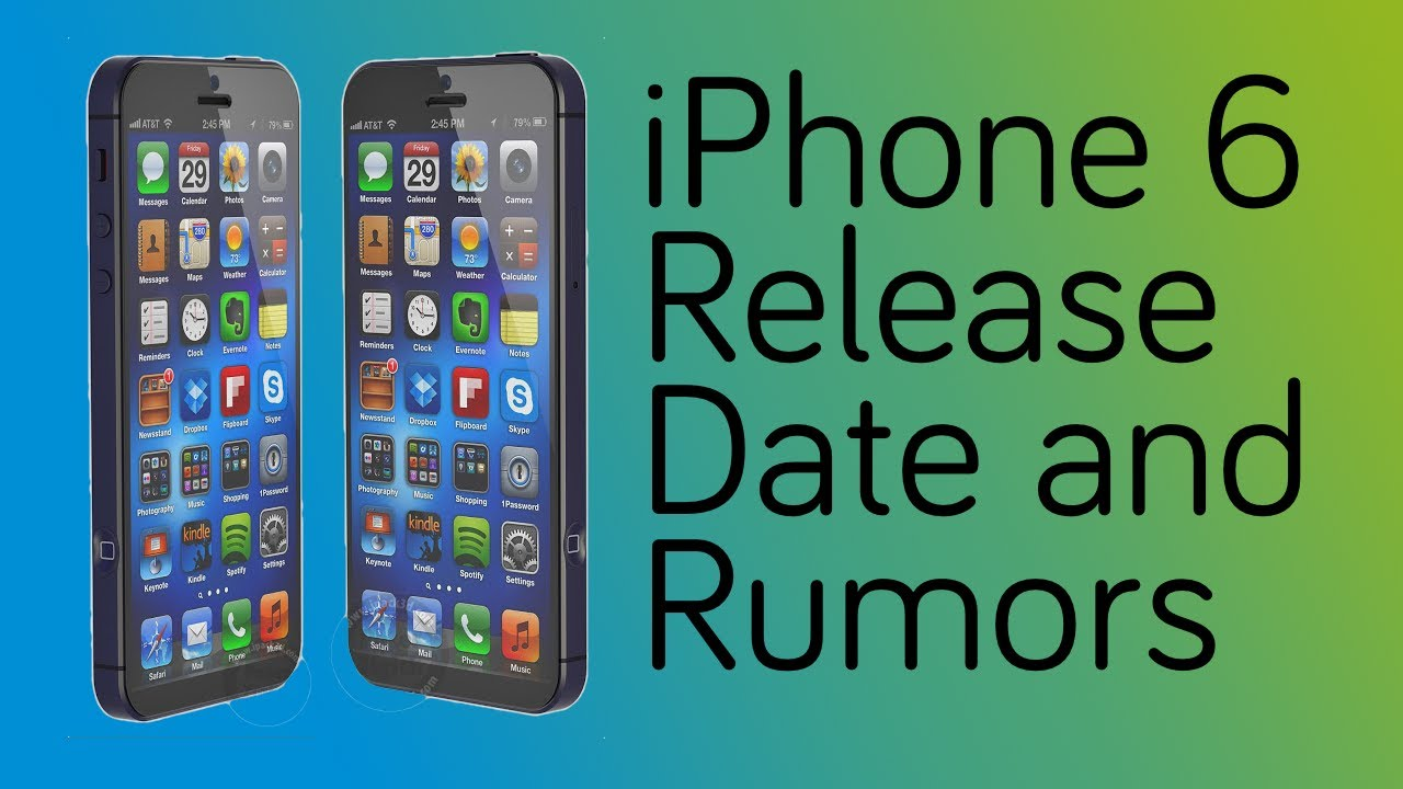 New IPhone 6 Release Date And Predictions Rumors