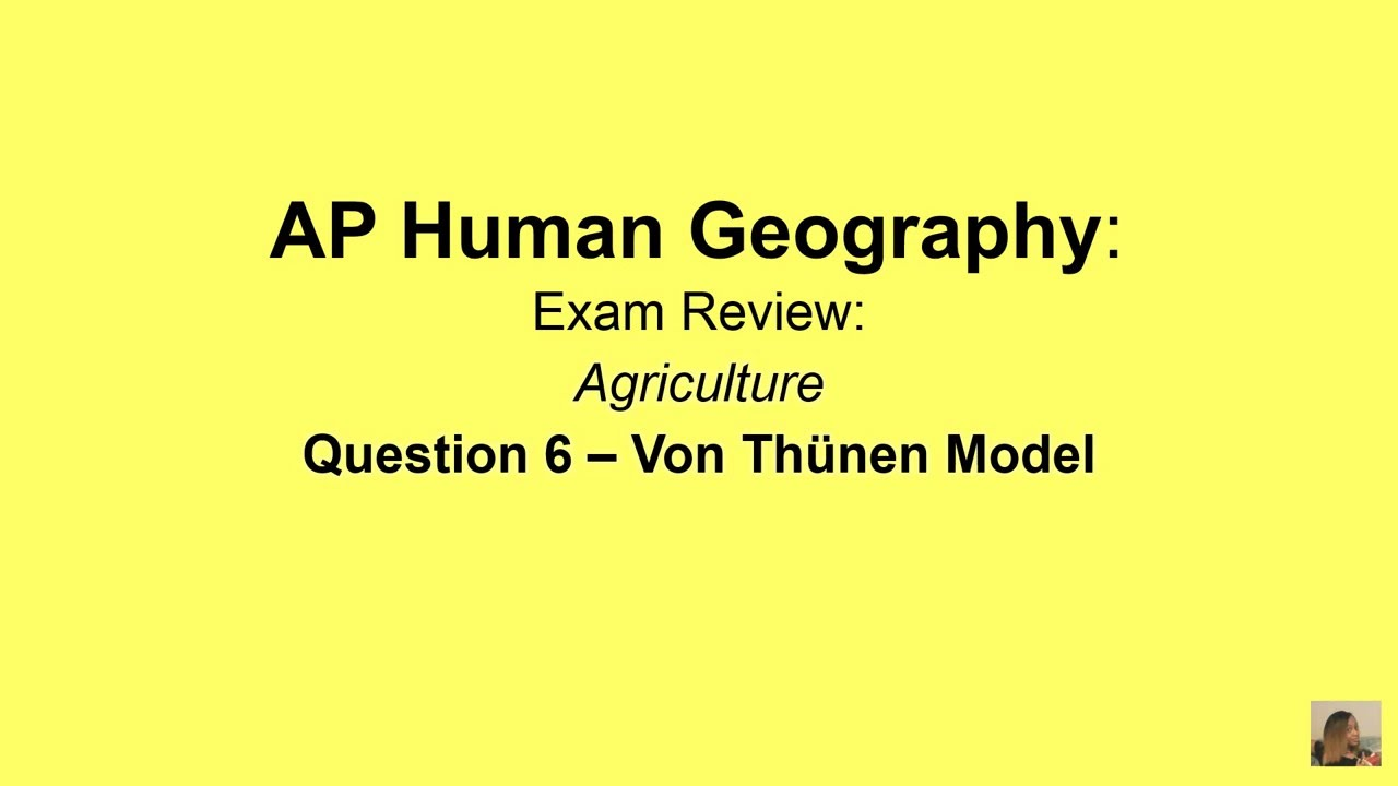 ap cram ap human geography exam review agriculture question 6