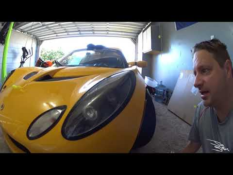 Vlog #68 Lotus Elise 2005 LED light out headlight fix