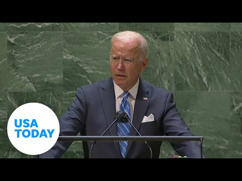 President Joe Biden delivers first speech at United Nations General Assembly   USA TODAY