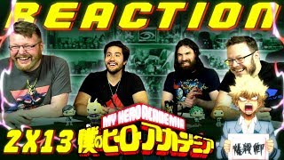 """My Hero Academia [English Dub] 2x13 REACTION!! """"Time to Pick Some Names"""""""