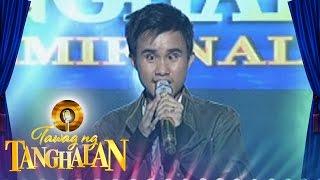Tawag ng Tanghalan: Carlmalone Montecido   Bakit Pa Ba (Round 4 Semifinals)