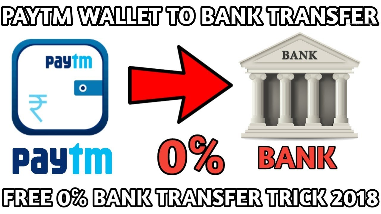 How To Transfer Paytm Wallet Money Bank Without Fees 0 Charges Send Free