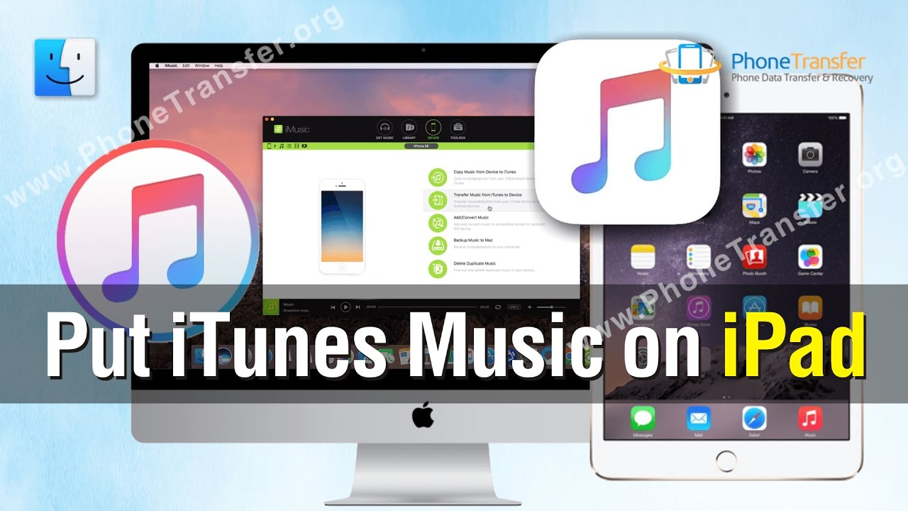 ipad music download without itunes