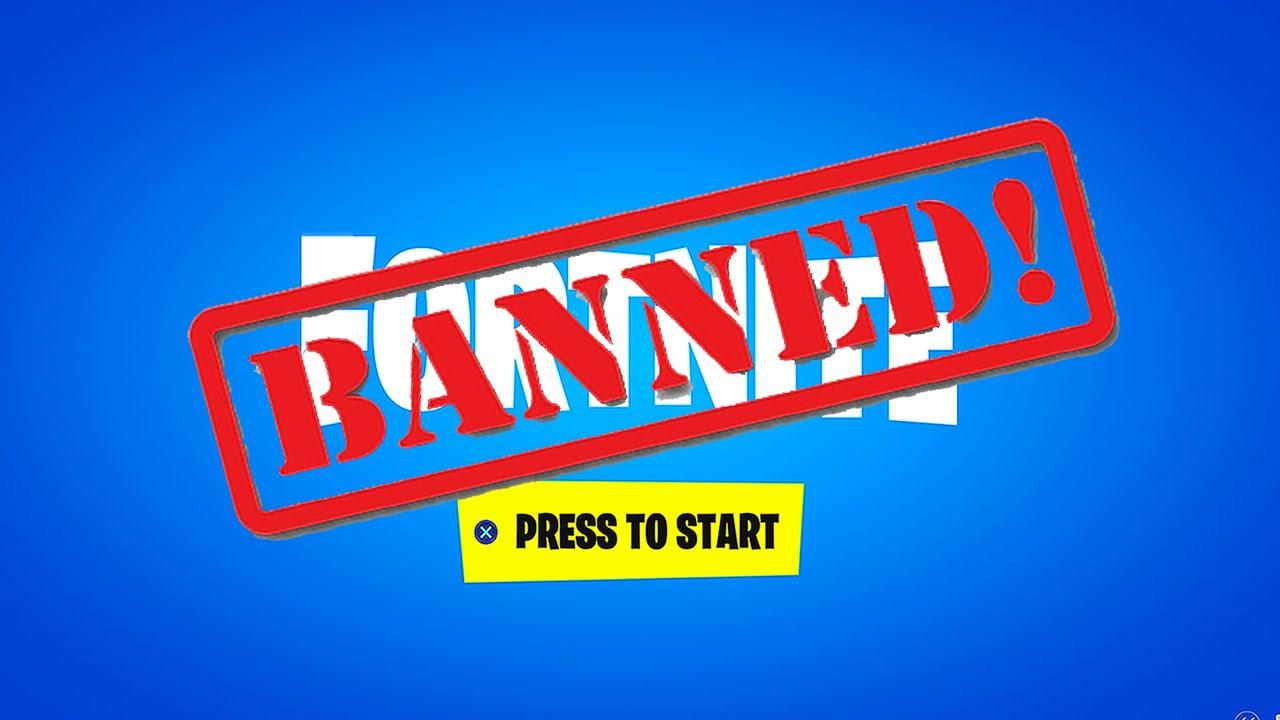 FORTNITE is BANNED! #FreeFortnite