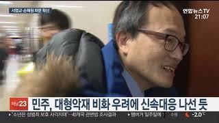 민주, 서영교ㆍ손혜원 논란 확산 신속대응…야당 맹공 / 연합뉴스TV (YonhapnewsTV)