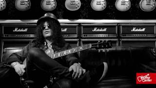 Slash: At Guitar Center, Fat Strings and Simple Effects