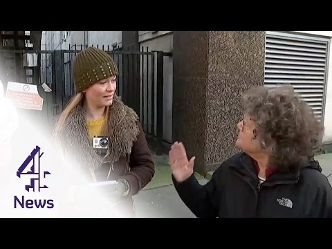 Heated debate as woman confronts anti-abortion protesters | Channel 4 News