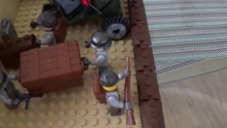 Лего самоделка на тему вторая мировая.