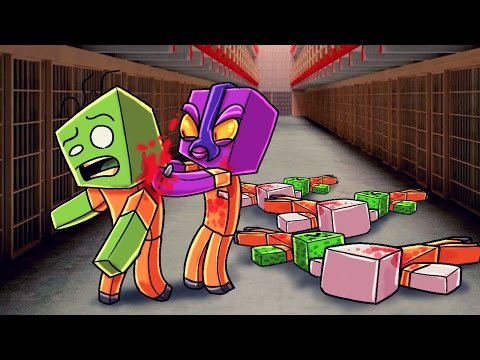 Minecraft | Prison Life - KILLING THE EVIL MOBS! (Jail Break in Minecraft) #7