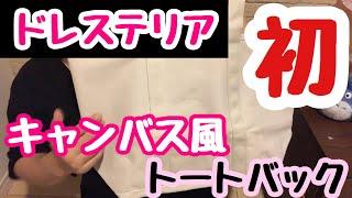 ドレステリア初のムック本! しっかりとしたキャンバス風トートバック.