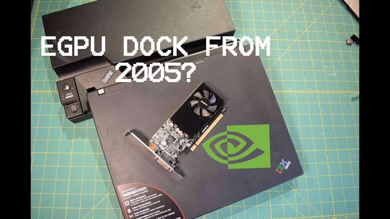 Lenovo Thinkpad PCIe GPU Docking Station (250310U) : First Look