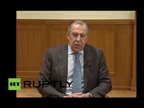 LIVE: Lavrov addresses press after Turkish forces shoot down Russian Su-24 over Syria (ENGLISH)