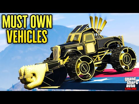 Top 10 Vehicles You SHOULD OWN in GTA Online 2019