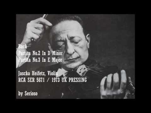 Bach, Partita No 2,3, Heifetz